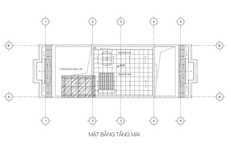 Tang mai mat bang shophouse kien hung luxury
